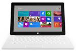 Microsoft-Surface in Das iPad und die Konkurrenz - Übersicht der technischen Daten
